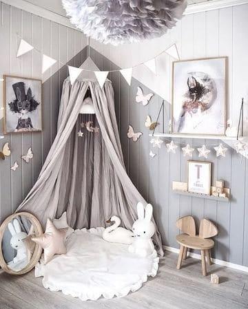 lamparas para cuartos de niñas de tela