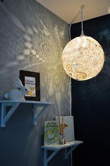 lamparas para cuartos de niñas hecha a mano