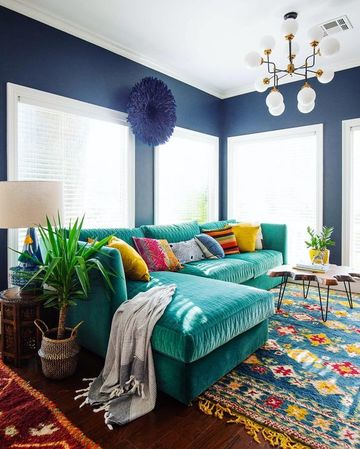 modelos de salas pintadas modernas