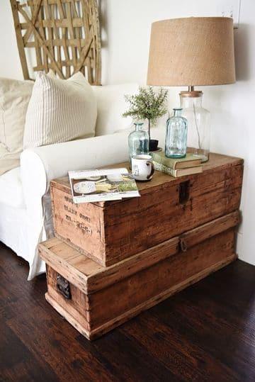 muebles rusticos para sala con madera de reciclaje