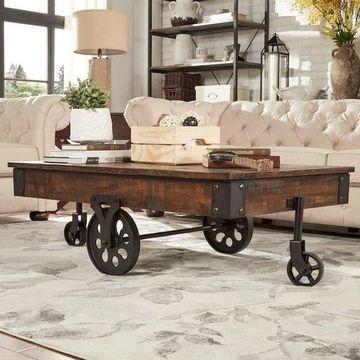 muebles rusticos para sala grande