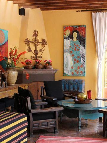salas rusticas mexicanas pequeñas