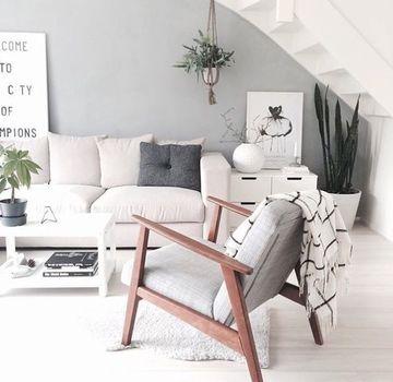 sillones de madera para sala moderna