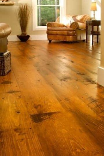 suelos de madera maciza rustica
