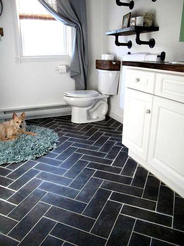 suelos vinilicos para baños economicos