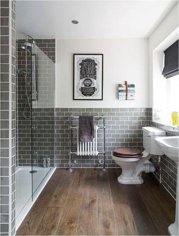 suelos vinilicos para baños que simulan madera