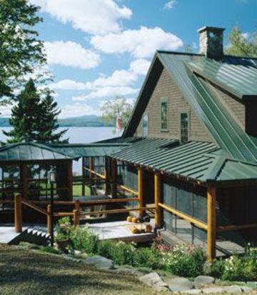 techos metalicos para casas en verde