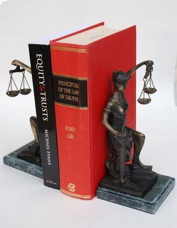 adornos para oficina de abogados de bronce y marmol