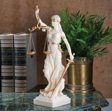 adornos para oficina de abogados elegantes