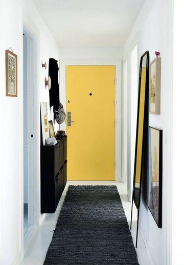 armarios para pasillos estrechos en entradas