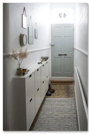 armarios para pasillos estrechos interiores