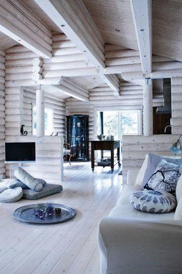 casas estilo escandinavo rustico