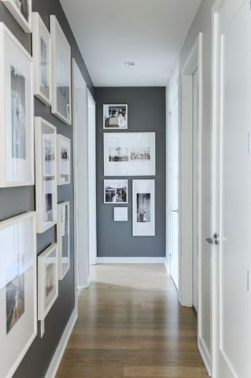 colores para pintar un pasillo en tonos grises