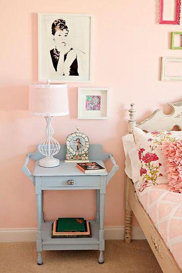 colores rosas para paredes de habitacion
