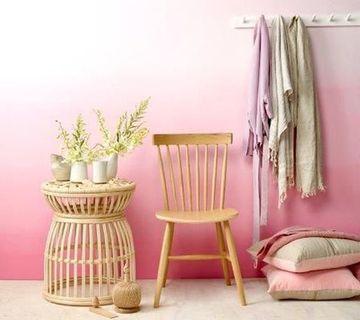 colores rosas para paredes relajantes