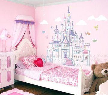 cortinas para habitacion rosa de princesa