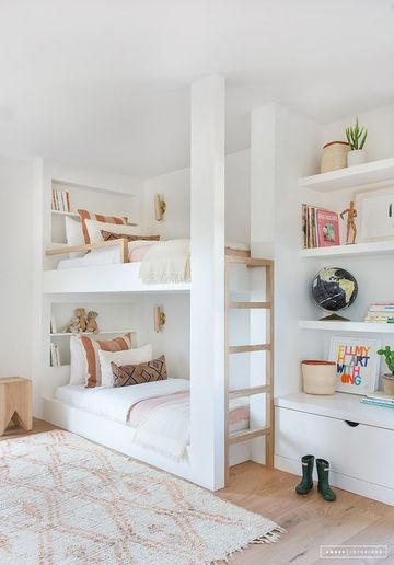 Ideas decorativas en dormitorios infantiles dobles como - Dormitorios infantiles dobles ...