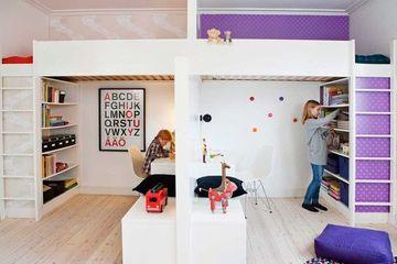 dormitorios infantiles dobles de niño y niña