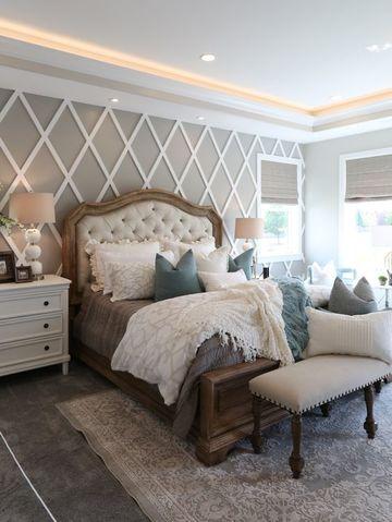 habitaciones color beige estilo frances
