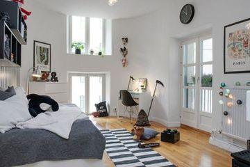 habitaciones nordicas juveniles modernas