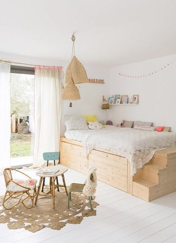 habitaciones nordicas juveniles sencillas