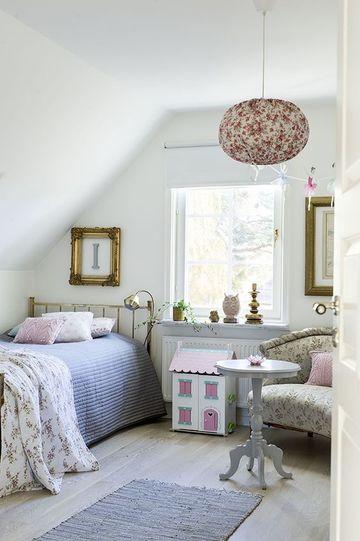 habitaciones nordicas juveniles vintage
