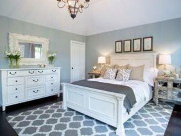 muebles blancos para dormitorio clasico