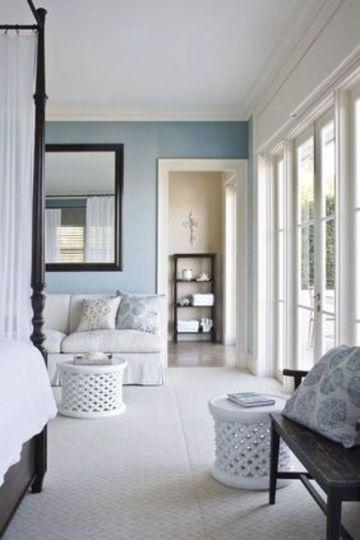 muebles blancos para dormitorio elegante