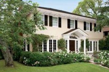 colores coloniales para fachadas de casas beige