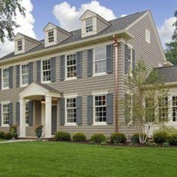colores coloniales para fachadas de casas tonos grises