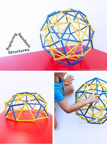como hacer un domo geodesico facilmente