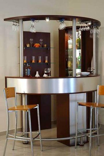 decoracion de bares en casa minimalistas