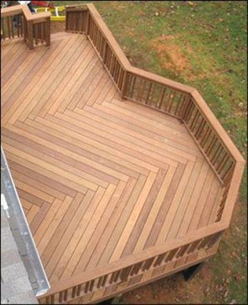 diseños de balcones en madera grandes
