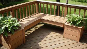 diseños de balcones en madera sencillos
