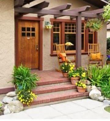 diseños para frentes de casas pequeñas