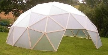 domos de acrilico para casas sencillo