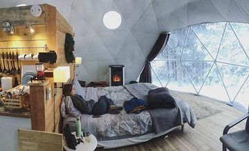 domos modernos para casas pequeñas