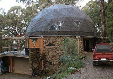 domos para techos de casas de piedras