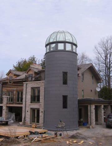 domos para techos de casas pequeños
