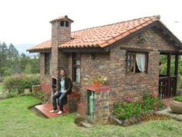 frentes de casas de campo pequeñas