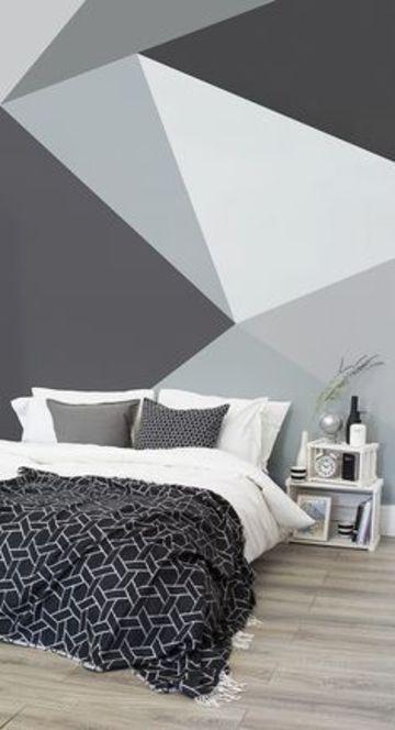 ideas para pintar tu cuarto en tonos grises