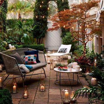 terrazas pequeñas bonitas con muchas plantas