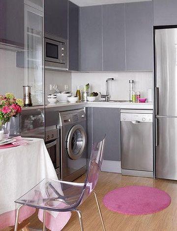 cocinas pequeñas y practicas muy bonitas