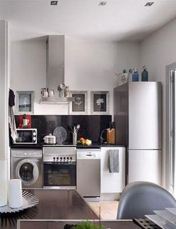 cocinas pequeñas y practicas muy modernas