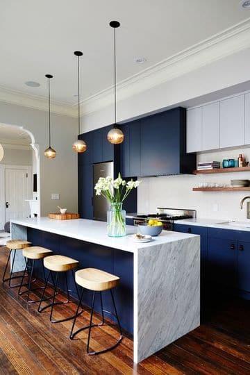 colores cocinas modernas combinados