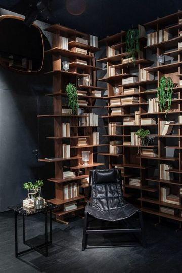 como decorar una biblioteca en casa
