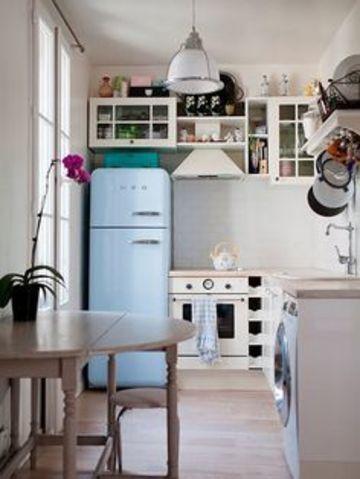 como decorar una cocina chica bonita