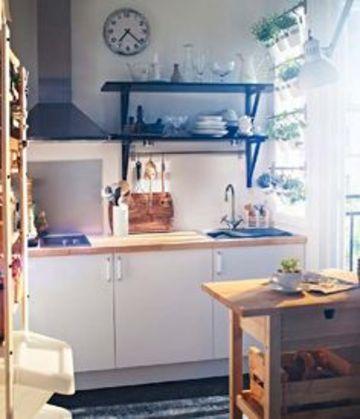 como decorar una cocina chica economica