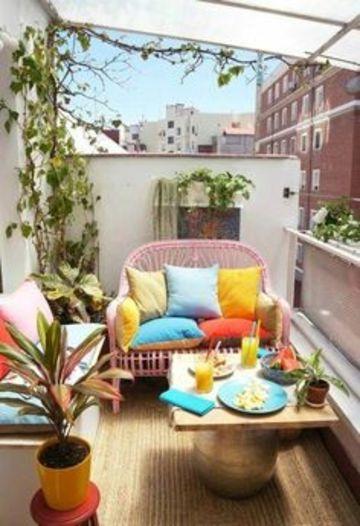 diseños de terrazas pequeñas de apartamentos