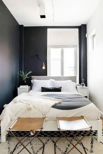 dormitorios pequeños para adultos sencillos